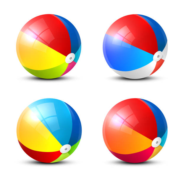 Beach Ball Illustrations, Royalty-Free Vector Graphics ...