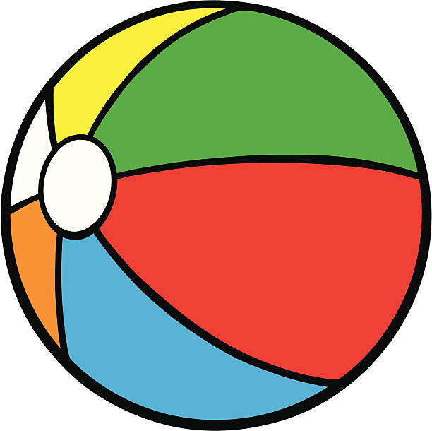 Top 60 Cartoon Of A Beach Balls Clip Art, Vector Graphics ...