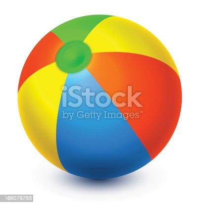 Vector beach Ball.