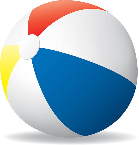 Royalty Free Beach Ball Clip Art, Vector Images ...