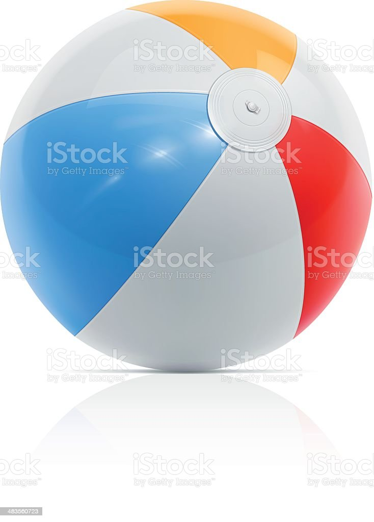Beach ball royalty-free beach ball stock vector art & more images of ball