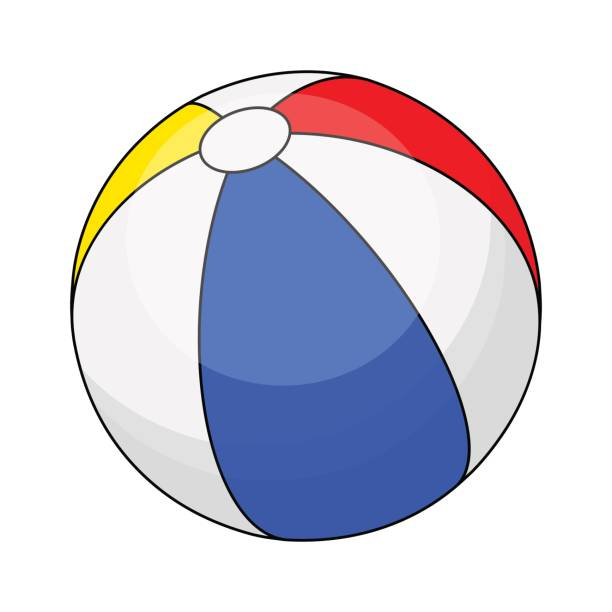 Beach Ball Cartoon Illustrations, Royalty-Free Vector ...