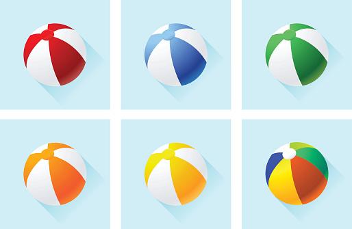 Beach Balls icon set