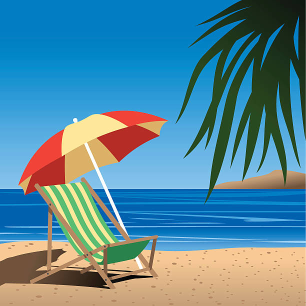 Best Beach Umbrella Illustrations, Royalty-Free Vector ...