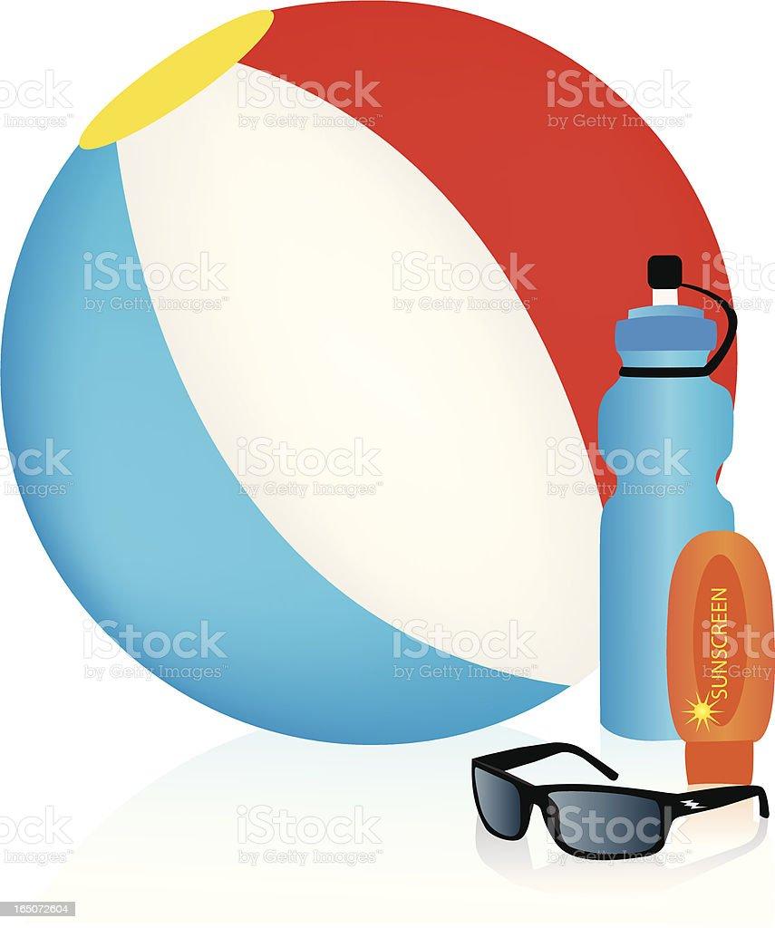 Beach Gear royalty-free beach gear stock vector art & more images of ball