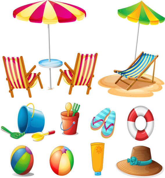 Beach Clipart Illustrations, Royalty-Free Vector Graphics ...