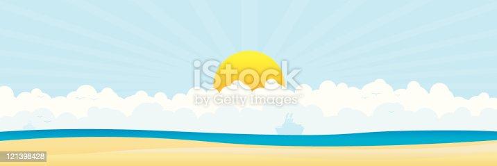 istock Beach Panoramic 121398428