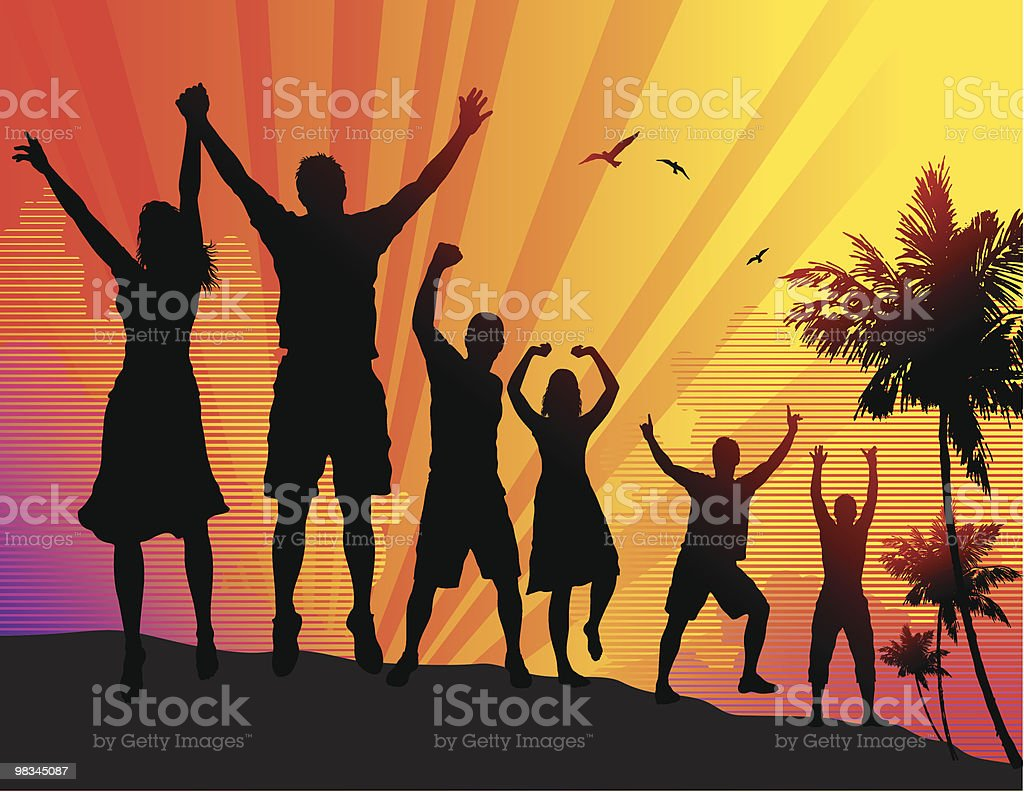 Beach Party royalty-free beach party stock vector art & more images of adult