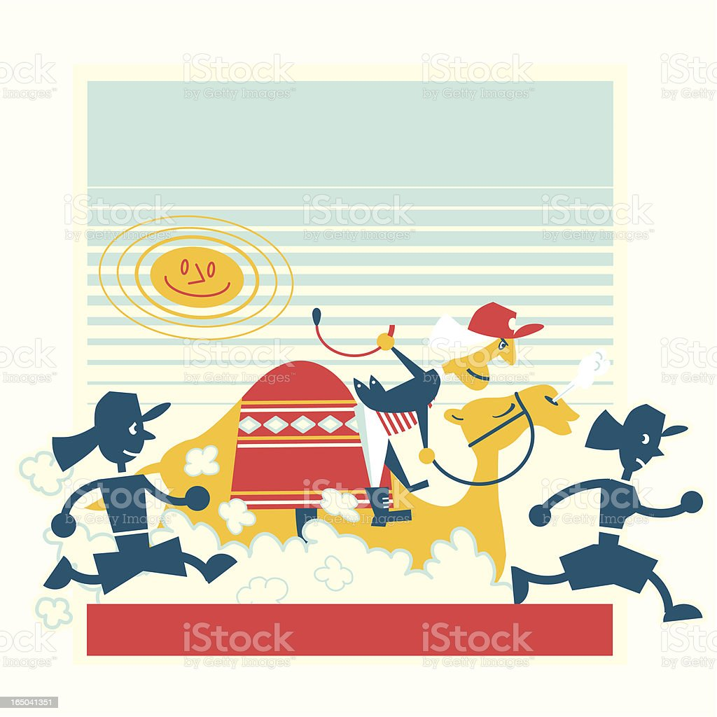 Beach Running Race royalty-free beach running race stock vector art & more images of army