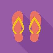 Beach slippers