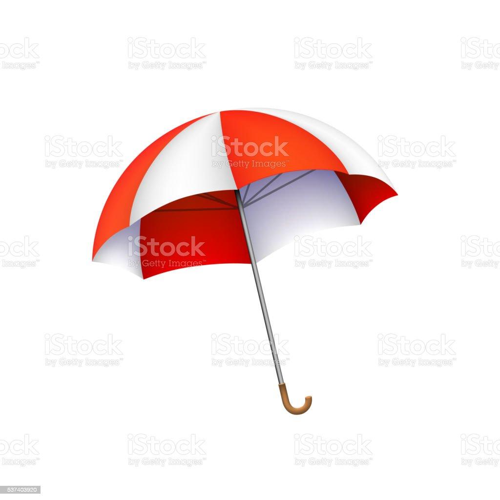 225e812c28 Beach Umbrella Sign Object On A White Background Vector Illustration ...