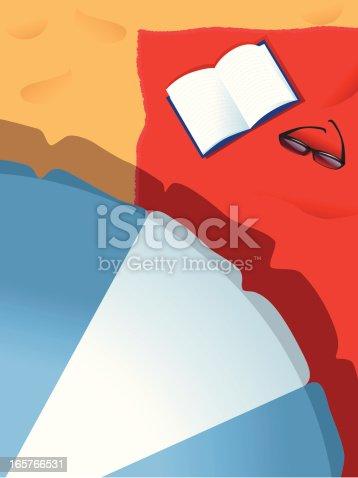 istock Beach Umbrella 165766531