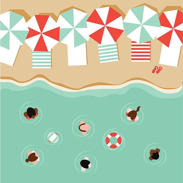 Beach Towel Clip Art: Best Beach Towel Illustrations, Royalty-Free Vector