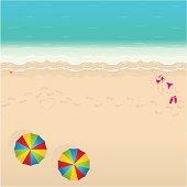 Beach in Summertime.