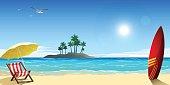 Summer holiday location