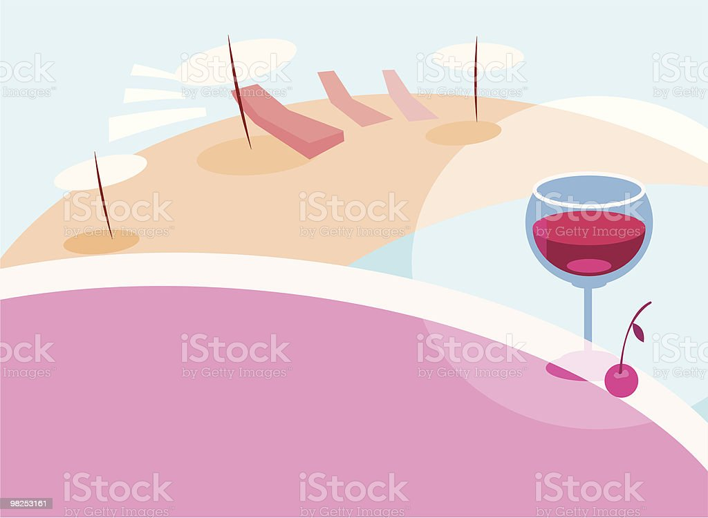 beach royalty-free beach stock vector art & more images of armchair