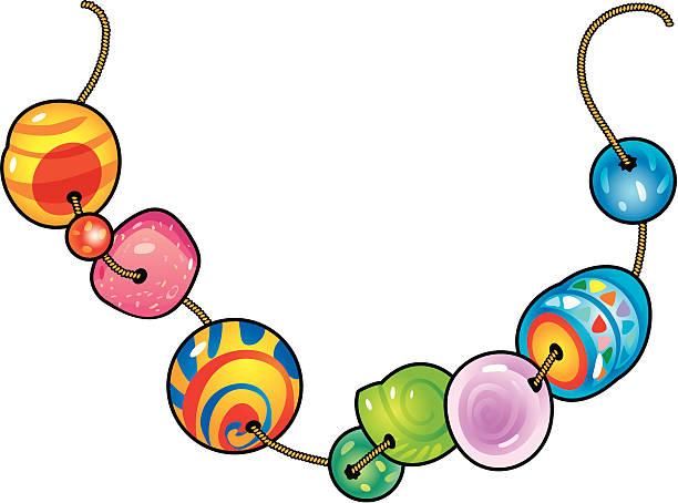 beads - bead stock illustrations, clip art, cartoons, & icons