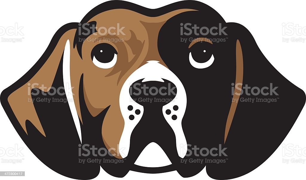 Perro beagle de mascota - ilustración de arte vectorial
