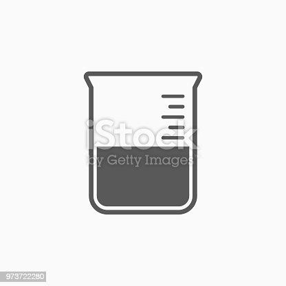 istock beaker icon 973722280