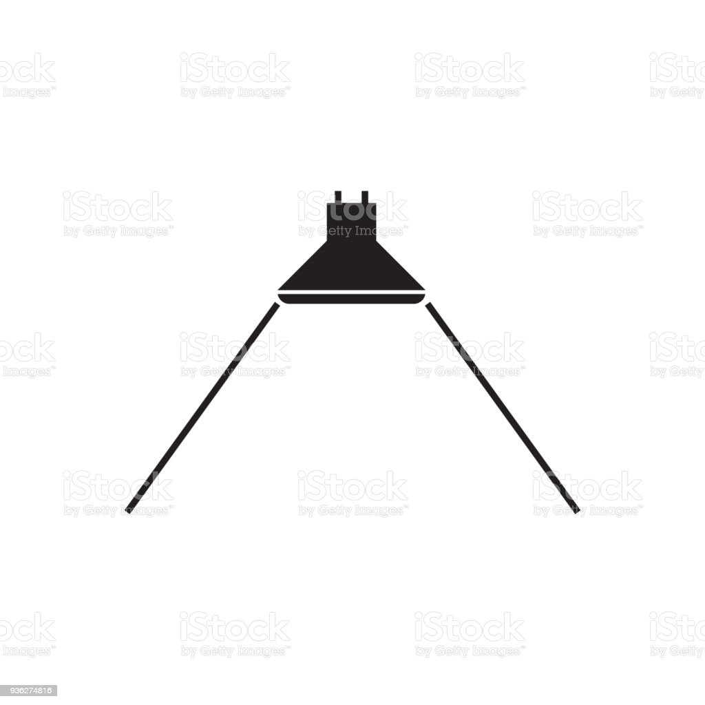 Beam Anglesymbol Für Ledlicht Vektorillustration Stock Vektor Art ...