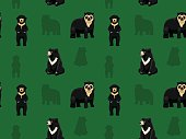 Bear Asian Wallpaper 1