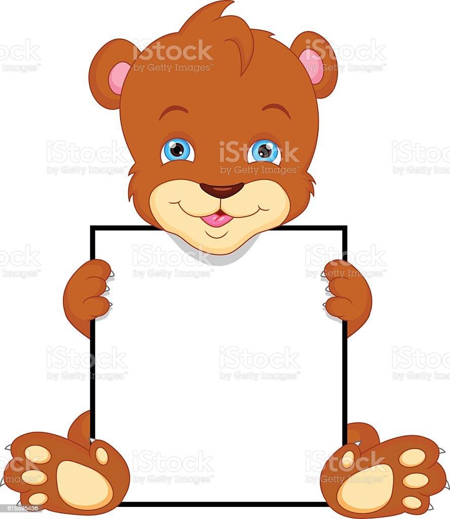 royalty free cute cartoon bear holding honey pot clip art vector rh istockphoto com