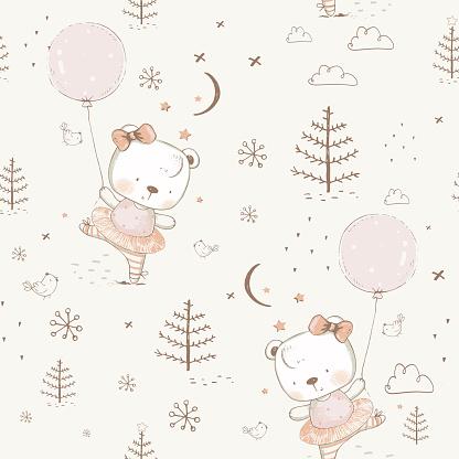 Bear Dancer Pattern