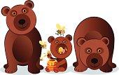 Vector bear family