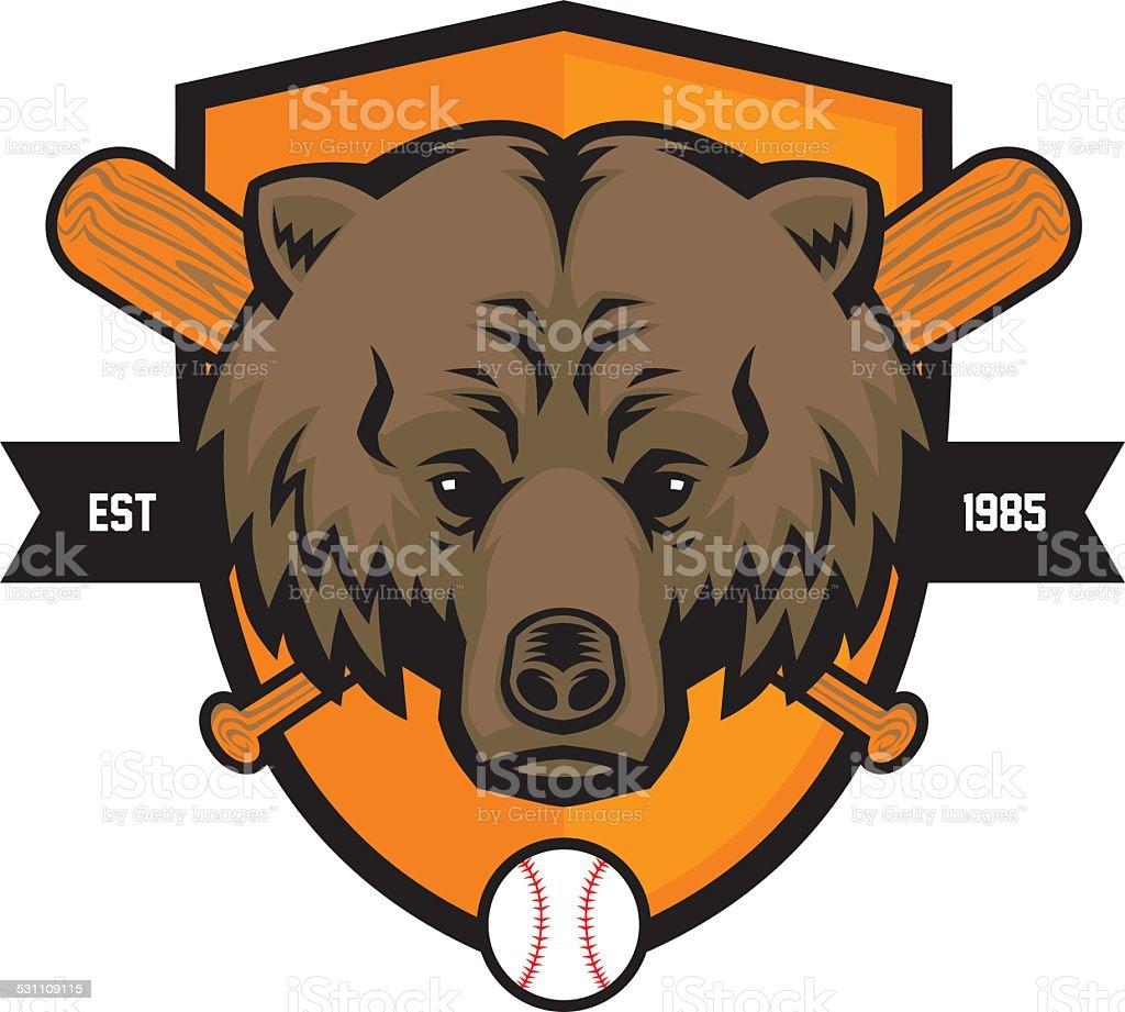 royalty free bear mascot heads clip art vector images rh istockphoto com