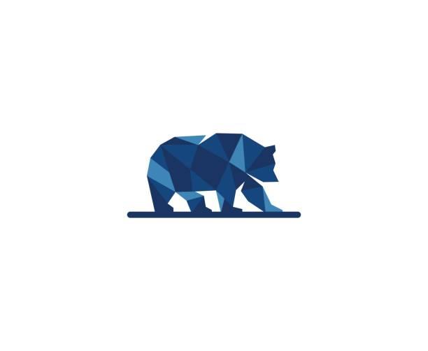 ilustrações, clipart, desenhos animados e ícones de ícone de urso - urso