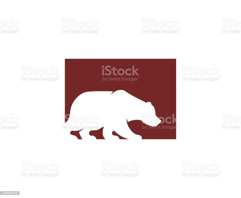 Bear-Symbol – Vektorgrafik