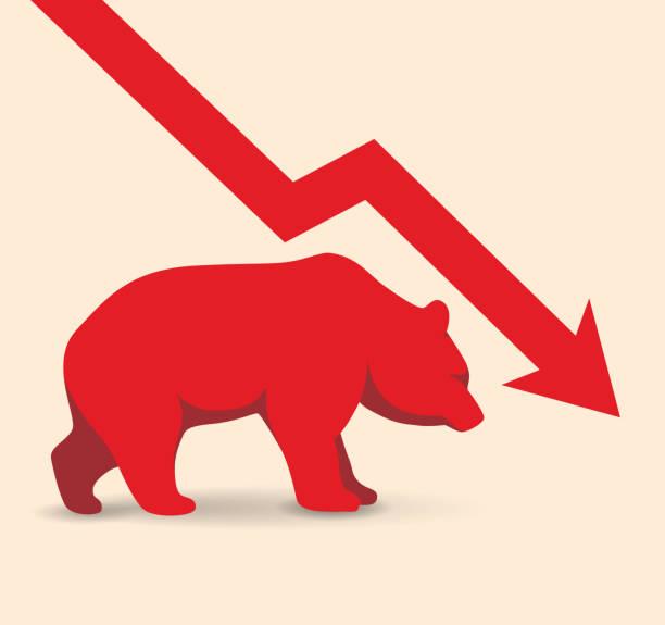 Bärenmarkt – Vektorgrafik