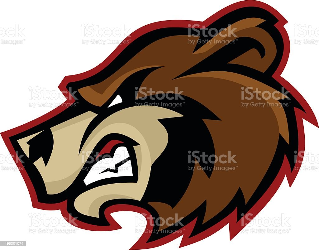 bear mascot logo stock vector art more images of 2015 498061074 rh istockphoto com