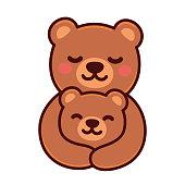 istock Bear mom and baby 1214084770
