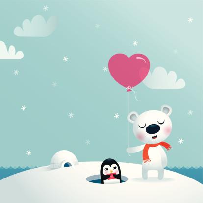 Bear & Penguin