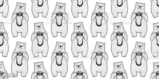 Bear polar bear camera photographer doodle vector illustration vector id831110778?b=1&k=6&m=831110778&s=612x612&h=wam0psn9nrw9mxbffd4du96ctdznch6q2tg3jwgfmo0=