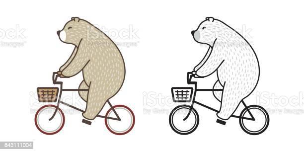 Bear polar bear riding a bicycle doodle vector illustration vector id843111004?b=1&k=6&m=843111004&s=612x612&h=3mvdy9uqctthiuqhhawtr66pr8abnfy rncdvd1tlzm=