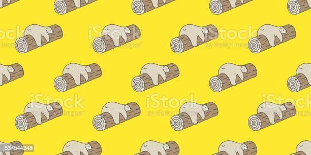 Bear polar bear sleep log doodle vector seamless pattern wallpaper vector id837544348?b=1&k=6&m=837544348&s=612x612&h=okopjplvv0vthyg3epm0y3messqoxqqmcujfesoz90k=
