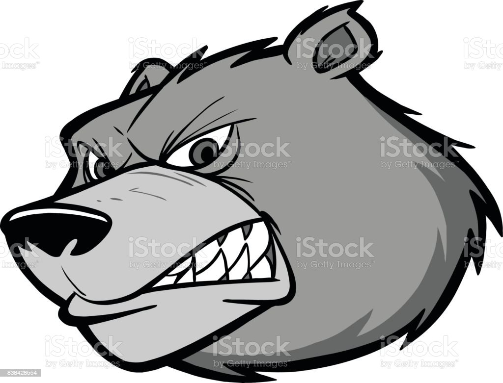 Bear Team Mascot Illustration vector art illustration