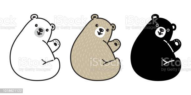 Bear vector polar bear icon logo cartoon character illustration smile vector id1018621122?b=1&k=6&m=1018621122&s=612x612&h=asb3e wqbjqsp8hwey9jkuydnfcvbjjgh56oqst8upa=