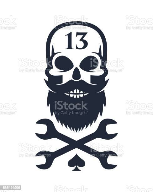 Bearded skull and crossed wrenches vector id686494596?b=1&k=6&m=686494596&s=612x612&h=s8couv atfopraxu7ild1yjjoos9qqfdbnfi6rzbna4=