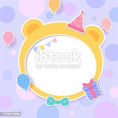 istock bear-frame-party 1279075395