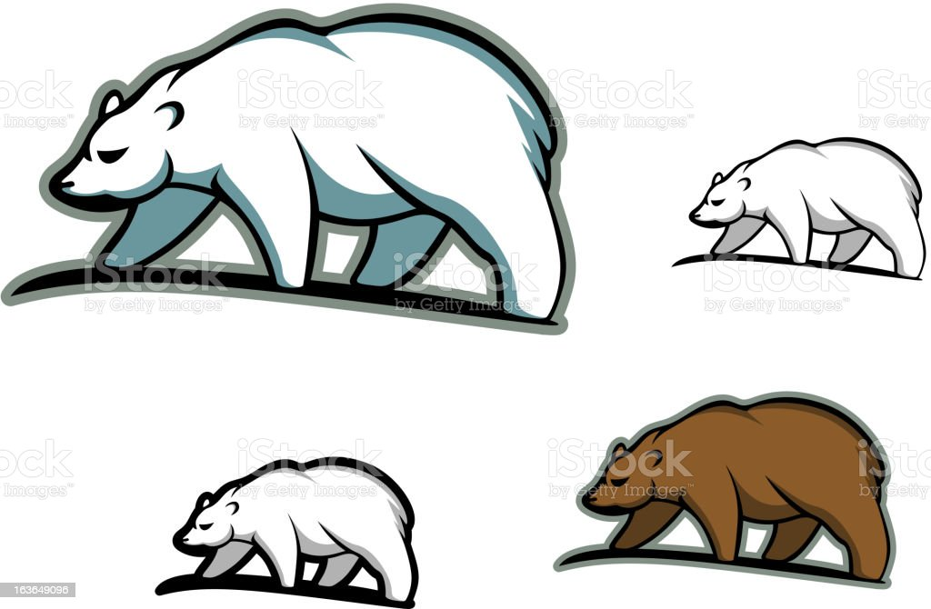 Bears in cartoon style royalty-free bears in cartoon style stock vector art & more images of animal wildlife