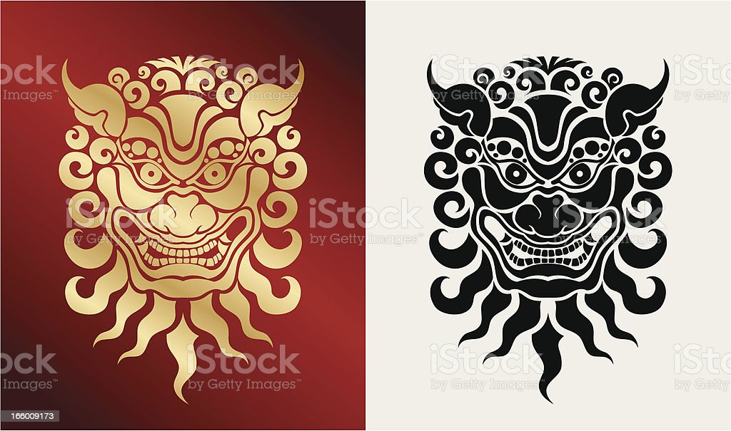 Mama (estilo oriental) - ilustración de arte vectorial