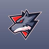 beast Wolf team sport logo design