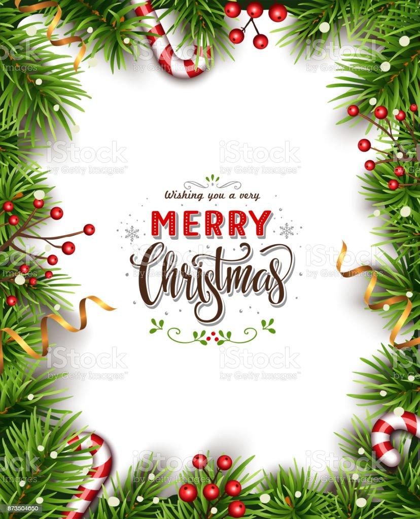 Fondo de Navidad hermosa - ilustración de arte vectorial