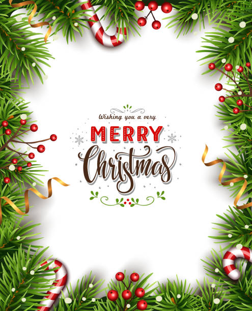 Beatiful Christmas Background vector art illustration