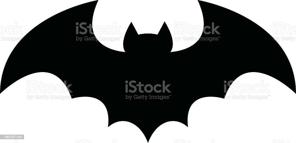 Bat vector art illustration