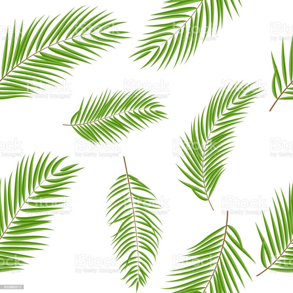 feuille de palmier beautifil silhouette fond de motif uniforme cliparts vectoriels et plus d. Black Bedroom Furniture Sets. Home Design Ideas