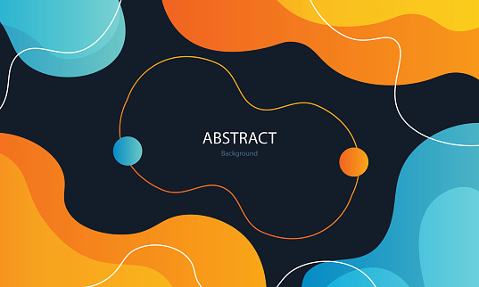 Beautiful abstract Waves background